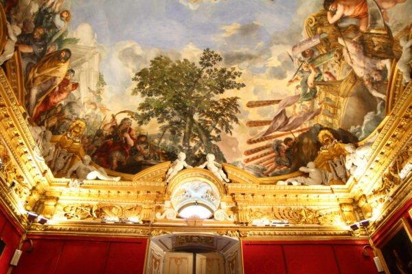 Afrescos Palazzo Pitti