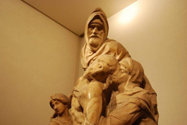 Pietà Michelangelo - Museu da Opera do Duomo Florença