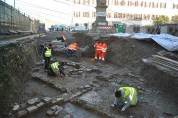 Encontrados em Florença restos de uma necrópole romana
