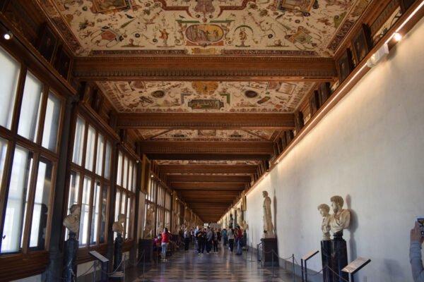 Tour Galleria degli Uffizi com guia brasileira