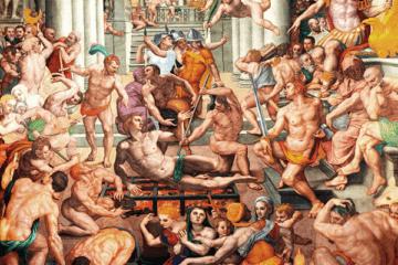 Martírio de São Lourenço, Rosso Fiorentino - Florença