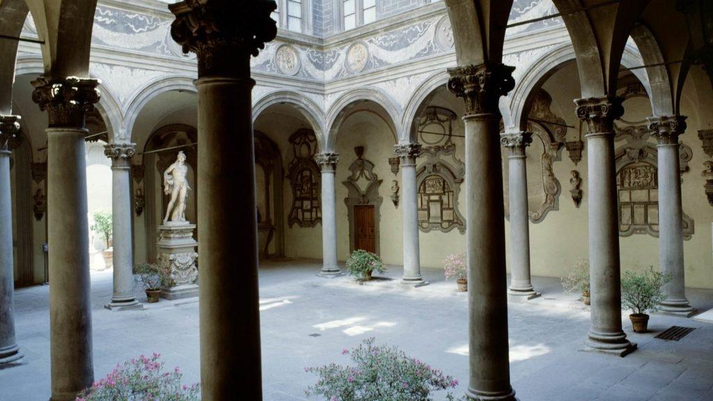 Pátio Palazzo Medici