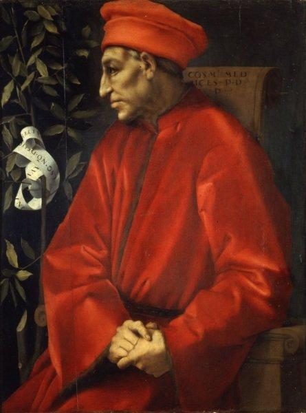 Cosimo o Velho , Pontormo, Uffizi