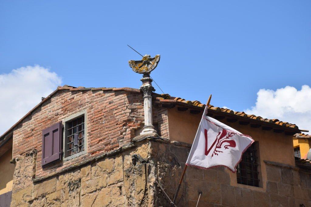Relógio solar, Ponte Vecchio, Florença.
