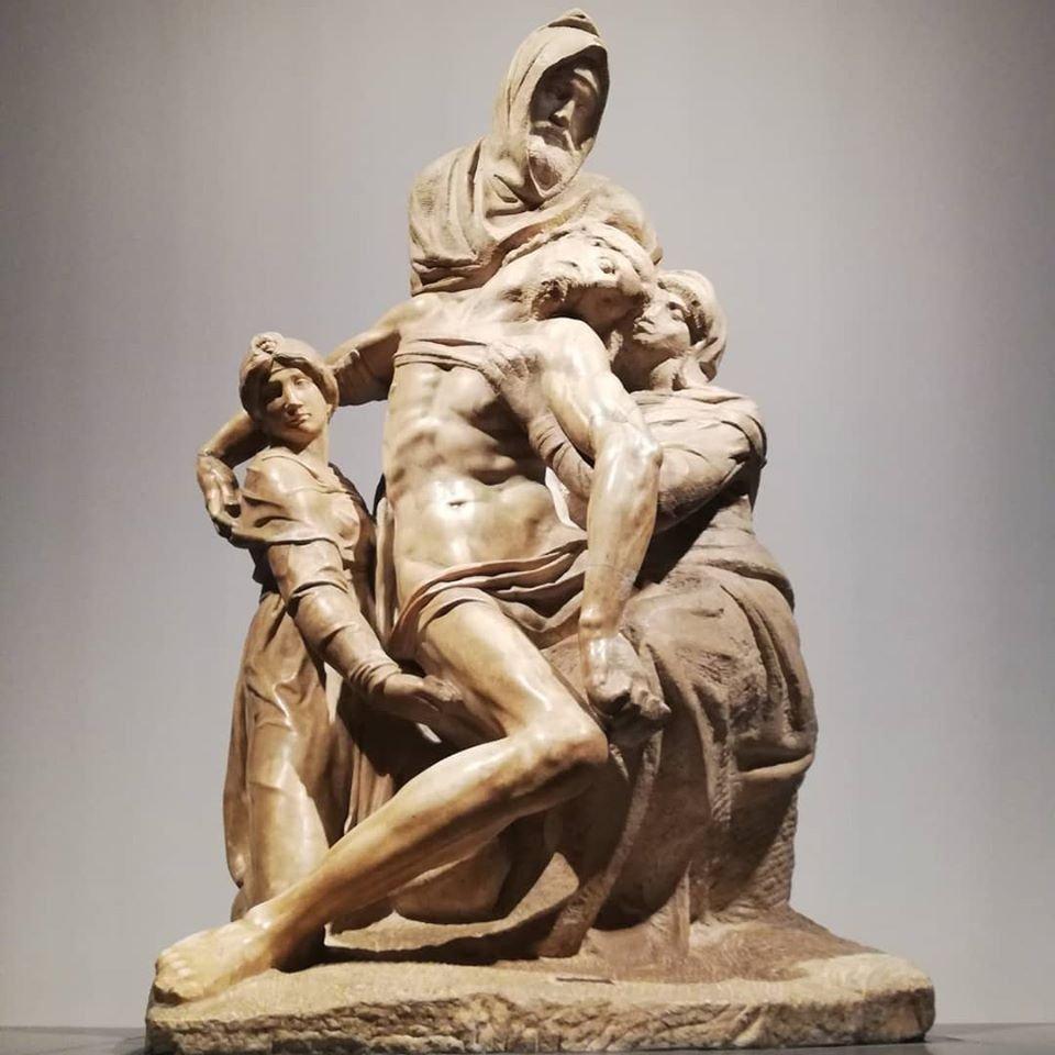 Pietà Bandini - Michelangelo - Museu da Opera del Duomo - Florença.